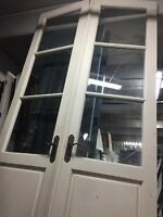 "8'10"" French Doors Beveled Glass"