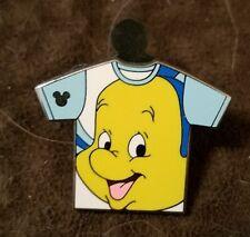 Disney pins Hidden Mickey Series T-Shirt Collection Flounder