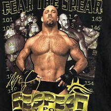 Goldberg Fear The Spear WCW Wrestling 1998 Shirt 90s Vitnage Youth Large #S