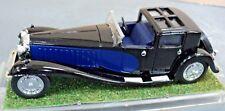 RIO Bugatti Royal Black and Blue 1:43 Die cast model