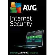 AVG Internet Security 2018 For 1 PC 12 Month License 1 User 2018