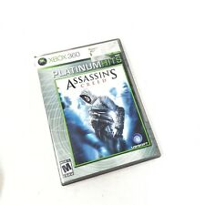 Assassins Creed Platinum Hits XBOX 360 Microsoft M Mature Pre Owned Video Game
