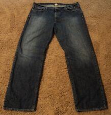 Lucky Brand 361 VINTAGE STRAIGHT Blue Jeans 38 Reg Regular Inseam actual = 40x32
