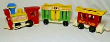 Vintage Fisher Price Little People Circus Train #991 No People Or Animals, Great