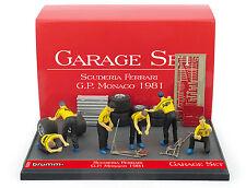 Brumm GS01 Garage Set - Ferrari Monaco GP 1981 1/43 Scale