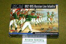Ruso línea Infantería 1812-1815 Warlord Games Polvo Negro 28mm napoleónicas