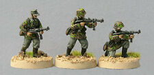 TQD GS08 20mm Diecast WWII Waffen SS NCOs in Early Smocks and Armed with MP40s