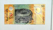 Malaysia Kuala Lumpur 98 XVI Commonwealth Games 50 Ringgit Polymer Note