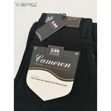 Jeans Donna LEE Cameron nero stretch a zampa regular vita bassa Vintage style
