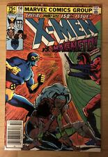 Uncanny X-Men #150 Claremont Newsstand Cyclops Re-joins Magneto App. High Grade!