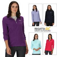 Regatta Womens Sweethart Lightweight Quarter-zip Long Sleeve Micro Fleece Jacket
