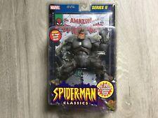 Marvel Legends Spider-Man Classics Rhino Toybiz Series 2 w/ Comic Book NEW