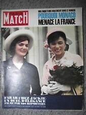 PARIS MATCH n°680 21-04-1962 LE TRANSSIBÉRIEN⧫SOFIA LOREN⧫JULIETTE GRECO⧫JOUHAUD