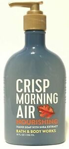 ♛ Shop8 :  Bath and Body Works Crisp Morning Air Nourishing Hand Soap With Shea