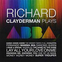 RICHARD CLAYDERMAN - CLAYDERMAN PLAYS ABBA CD ~ 70's POP *NEW*