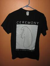 Men's Ceremony L Shaped Man T Shirt Tee Gildan Black Small