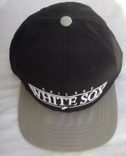 147a110d541 Cooperstown American Needle Black White Chicago White Sox Snapback Flat  Bill Hat