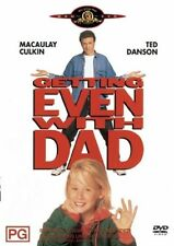 Getting Even With Dad (DVD, 2004) Region 4