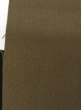 "Polyester Crepe Fabric: Olive Green, Suiting Weight, 66""W 3 yd. piece (Can CTO)"