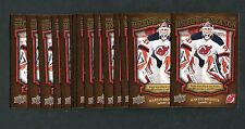 2009 UD Biography of a Season Martin Brodeur #BOS30 Lot of 15
