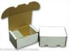 200 Cardboard Storage Boxes - Hold 200 Cards in each Box - 4 bundles