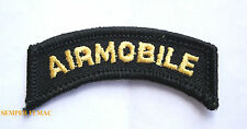 101St Airmobile Tab Hat Patch Us Army Cavalry Armor Division Fort Air Assulat