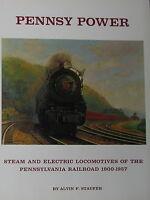 New PENNSY POWER  by AL STAUFER railroad BOOK Pennsylvannia 1900-1962  trains