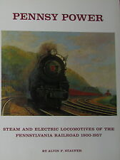 New PENNSY POWER  by AL STAUFER railroad BOOK Pennsylvannia 1900-1962  trains
