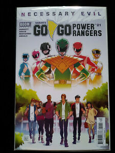 Go Go Power Rangers #21 Cover A BOOM Studios 2019