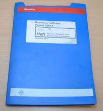 VW Passat B5 Motronic Einspritz und Zündanlage 1,6L Werkstatthandbuch Leitfaden