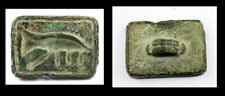 *SC*EXTREMELY LARGE EGYPTIAN BRONZE STAMP SEAL, New Kingdom!