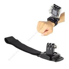 360 Degree Rotation Wrist Strap Hand Band Holder w/ Mount for GoPro Hero 2 3 3+