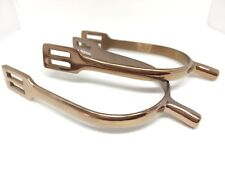 Rose Gold Spurs Stainless Steel Horse Riding Spurs Equestrian Ball End Spurs
