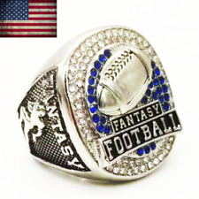 2019 NEW OFFICIAL Fantasy Football Championship Ring American Football Size 8-14
