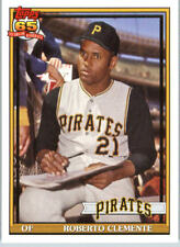 Topps Roberto Clemente Baseball Trading Cards For Sale Ebay