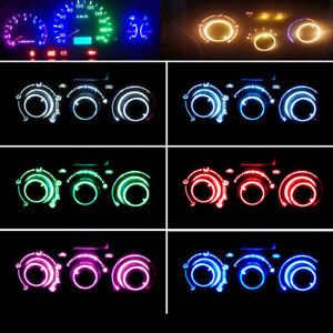 10/20pcs T3 Neo Wedge Car Neo Instrument Cluster Panel Gauge LED Bulbs Light Set