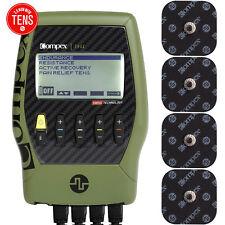 Compex Edge 2.0 Muscle Stimulator Tens Unit Kit TENS + EMS 4 Programs