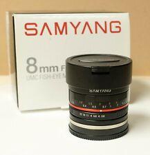 8mm f 2.8 Samyang - UMC Fisheye : Sony E Mount - Mint
