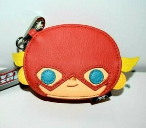 NWT Loungefly DC Comics The Flash Collectible Chibi  Coin Bag