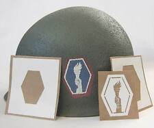 M1 Helmet Stencil 442nd Infantry Regiment Combat Team WW2 WWII Decal Template