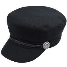 Fashion black hat cap women Casual streetwear cap autumn winter warm beret hats