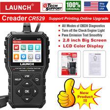LAUNCH Creader CR529 Automotive OBDII Scan Tool Car Fault Code Reader Diagnostic