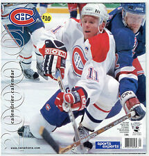 2000-01 Montreal Canadiens Team-Issued Calendar Koivu Cover