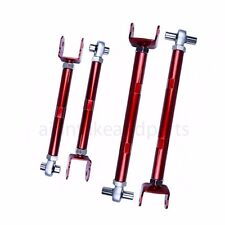 Godspeed For M56 11-13 Adjustable Rear Traction Arm Rods+ Toe Arm Suspension Kit