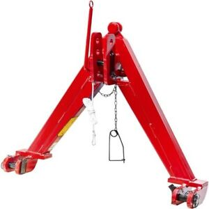 QUICK HITCH TRACTOR A FRAME CAT 2 Rear Linkage Quick Hitch System Black