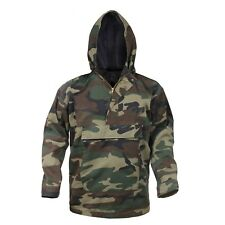Anorak Hooded Camo Parka Quarter Zip Pull Over Jacket Rothco 3847 3597 3647