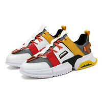 Men's Retro Sports Sneakers Fashion Running Shoes Breathable Casual Rubber Sole