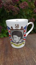 1980 Princess Margaret 50th Birthday Mug Limited edition of 250 Super Portrait