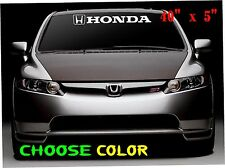 honda logo  Vinyl Windshield  car Decal  Race Window Banner