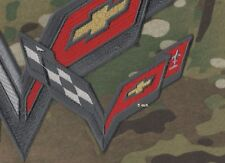 "Corvette Racing Team Super Sports Chest/Shoulder C-7 5"" Patch for RACING JACKET"